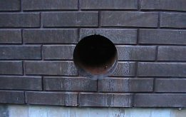 Бурение стен под вентиляцию